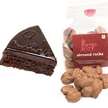 Chocolate Sacher & Chocolate Almond Rocks Pouch