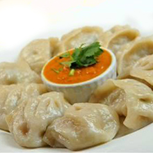Steamed Chicken Cheese Momo