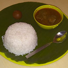 Rice Mutton Curry - LUN